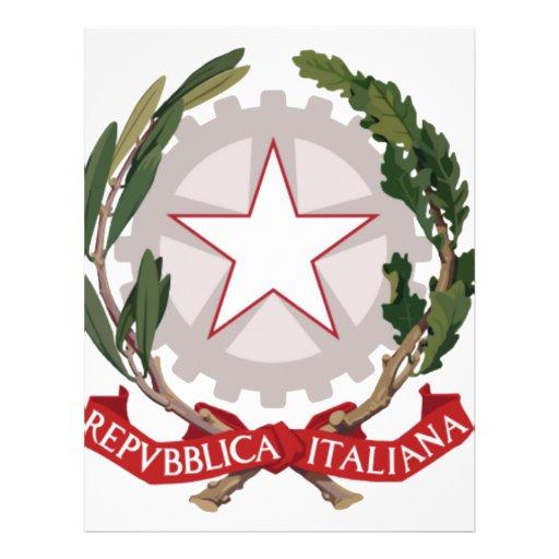 Emblema de Italia Tarjetas Publicitarias