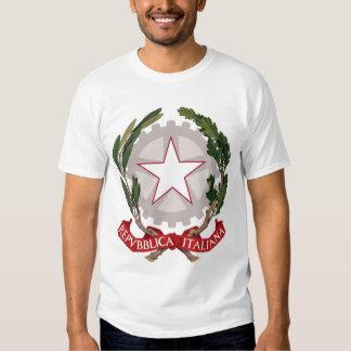 emblema de Italia Remera