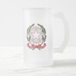 emblema de Italia Taza De Café