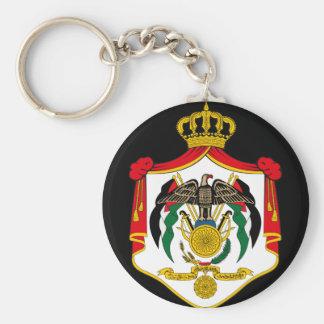 emblema de Jordania Llavero Redondo Tipo Pin
