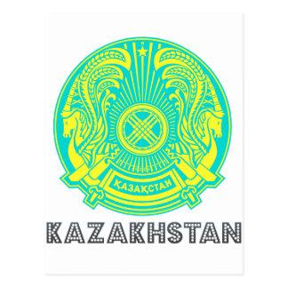 Emblema de Kazakhstani Tarjetas Postales