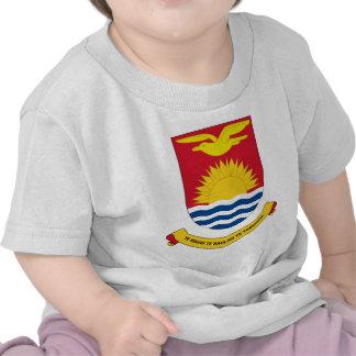 emblema de Kiribati Camisetas