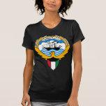 emblema de Kuwait Camiseta