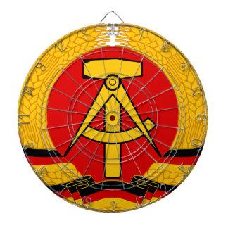Emblema de la Alemania Oriental Tablero De Dardos