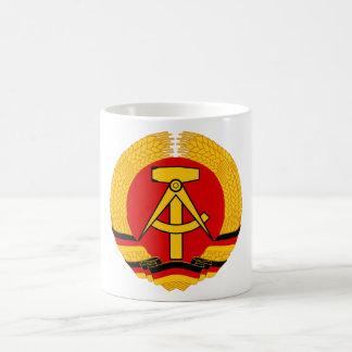 Emblema de la Alemania Oriental Taza Clásica