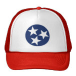 Emblema de la bandera de Tennessee Gorro De Camionero