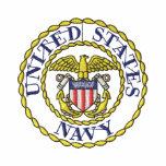 Emblema de la marina de guerra polo bordado
