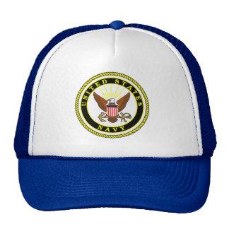 Emblema de la marina de guerra gorras