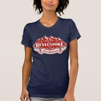 Emblema de la montaña de Revelstoke Camiseta