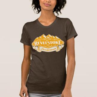 Emblema de la montaña de Revelstoke Camisetas