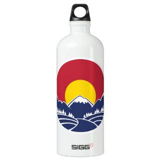 Emblema de la montaña rocosa de Colorado