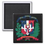 emblema de la República Dominicana Imanes