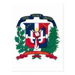 emblema de la República Dominicana Postales
