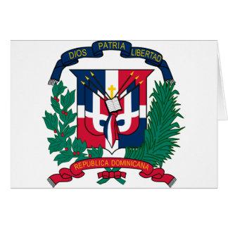 emblema de la República Dominicana Tarjeta De Felicitación