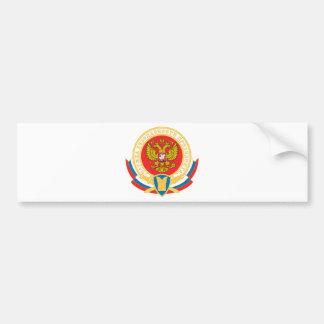 Emblema de la seguridad del presidente ruso pegatina para auto