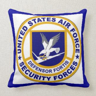 Emblema de las fuerzas de seguridad de la fuerza a cojines