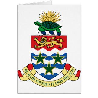 emblema de las Islas Caimán Tarjeta Pequeña