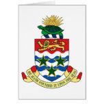 emblema de las Islas Caimán Tarjetón