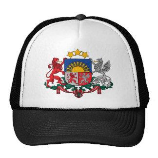 emblema de Letonia Gorros Bordados