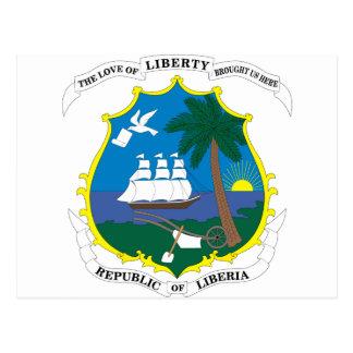 emblema de Liberia Postal
