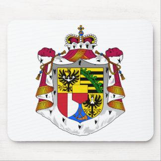 emblema de Liechtenstein Tapetes De Ratones