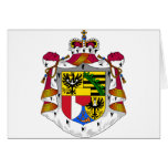 emblema de Liechtenstein Tarjetón