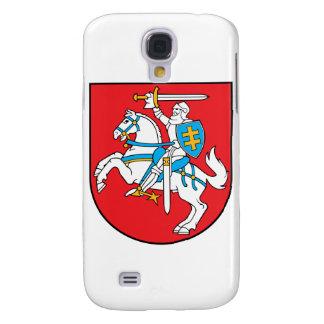 emblema de Lituania Funda Para Galaxy S4
