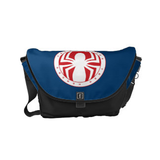 Emblema de los héroes del equipo de Spider-Man Bolsas Messenger