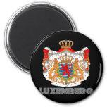 Emblema de luxemburgués iman de frigorífico