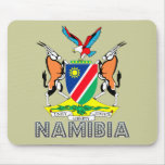 Emblema de Nambian Alfombrilla De Ratón