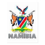 Emblema de Nambian Tarjetas Postales