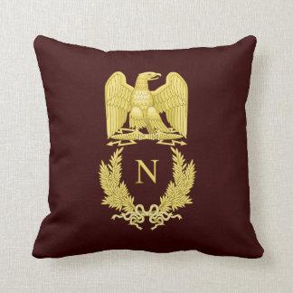 Emblema de Napoleon Bonaparte Cojín Decorativo