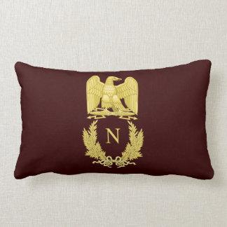 Emblema de Napoleon Bonaparte Cojín Lumbar