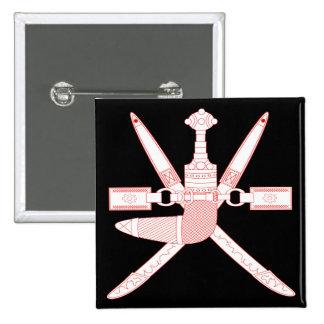 emblema de Omán Pin