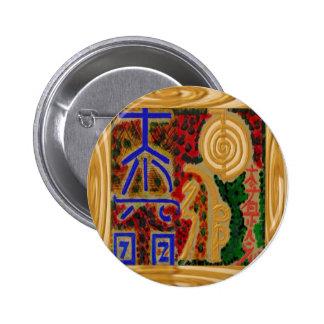 Emblema de ReikiHealingSymbol de Navin Joshi Pin