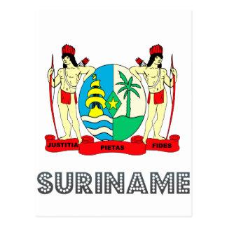Emblema de Surinamer Postales