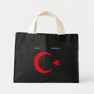 Emblema de TURKY Bolsa Tela Pequeña