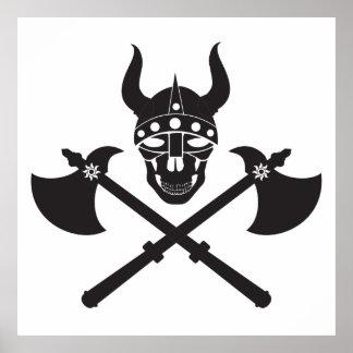 Emblema de Viking Póster