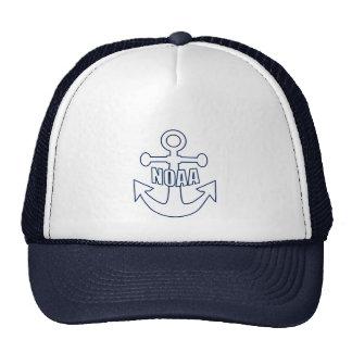 Emblema del ancla de NOAA Gorros
