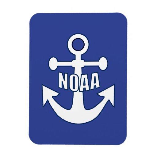 Emblema del ancla de NOAA Imán