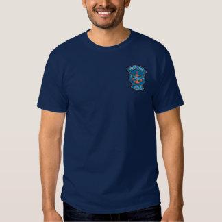 Emblema del ancla del guardacostas CWO-2 Camisas