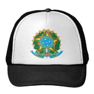 emblema del Brasil Gorros Bordados