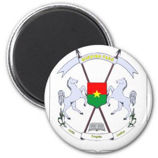 emblema del burkina imanes para frigoríficos