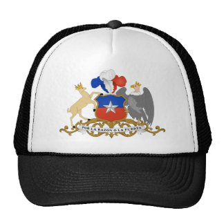 emblema del chile gorras de camionero