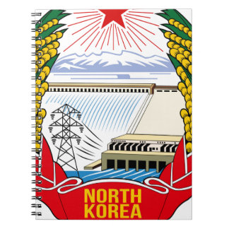 Emblema del DPRK (Corea del Norte) Notebook