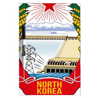 Emblema del DPRK (Corea del Norte) Pizarra