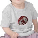 emblema del dragón camiseta