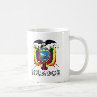 Emblema del Ecuadorian Taza De Café