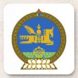 Emblema del estado de Mongolia