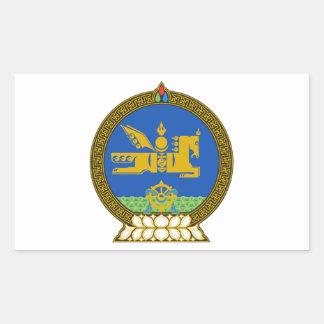 Emblema del estado de Mongolia Rectangular Altavoces